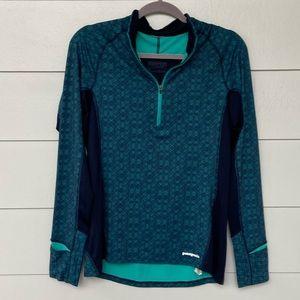 Patagonia All Weather Zip Neck Shirt Jacket Medium